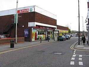 Coseley - Image: Spar Supermarket, Castle Street, Coseley geograph.org.uk 1017733