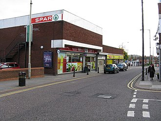 Coseley - Image: Spar Supermarket, Castle Street, Coseley geograph.org.uk 1017733
