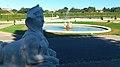 Sphinx in der Gartenanlage von Schloss Belvedere.JPG