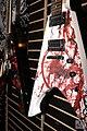 Splash & Skulls painted V-shape guitars - Expomusic 2014.jpg