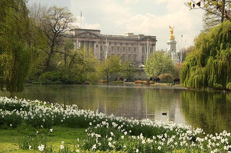 Buckingam spring in london