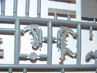 Greeble - Plastic model sprue