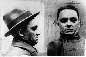 Squizzy Taylor - Squizzy Taylor on his release from Pentridge Prison in December 1924