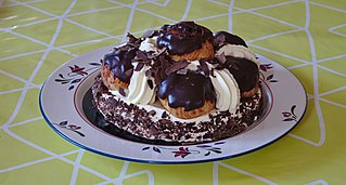 St. Honoré cake French pastry dessert