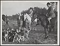 St. Hubertusjacht in de omgeving van Amersfoort met als jagermeester Prins Bernh, Bestanddeelnr 021-0282.jpg