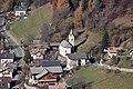 St. Silvester und Blasius mit Friedhof, + Gschnofer mit Backofen, in Verschneid, Mölten.JPG