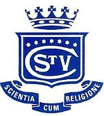 St Vincent's College crest. Source: www.stvincents.nsw.edu.au (St Vincent's College website)