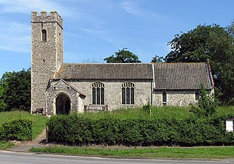 Attlebridge - Image: St Andrew, Attlebridge, Norfolk geograph.org.uk 485058