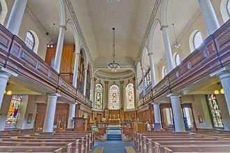 St Ann's Church, Manchester - Image: St Ann's Church Manchester HDR