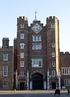 St Jamess Palace Royal palace in the United Kingdom