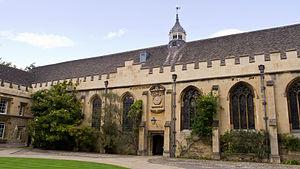 St John's College, Oxford - Front Quad