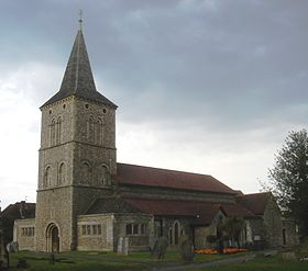 St Michael and All Angels Church, Southwick, Adur (IoE Code 297346).jpg
