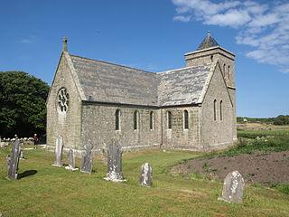 St Nicholass Church, Tresco Church in Isles of Scilly, England