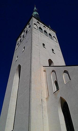 St. Olaf's Church, Tallinn - Image: St Olaf's Church, Tallinn exterior