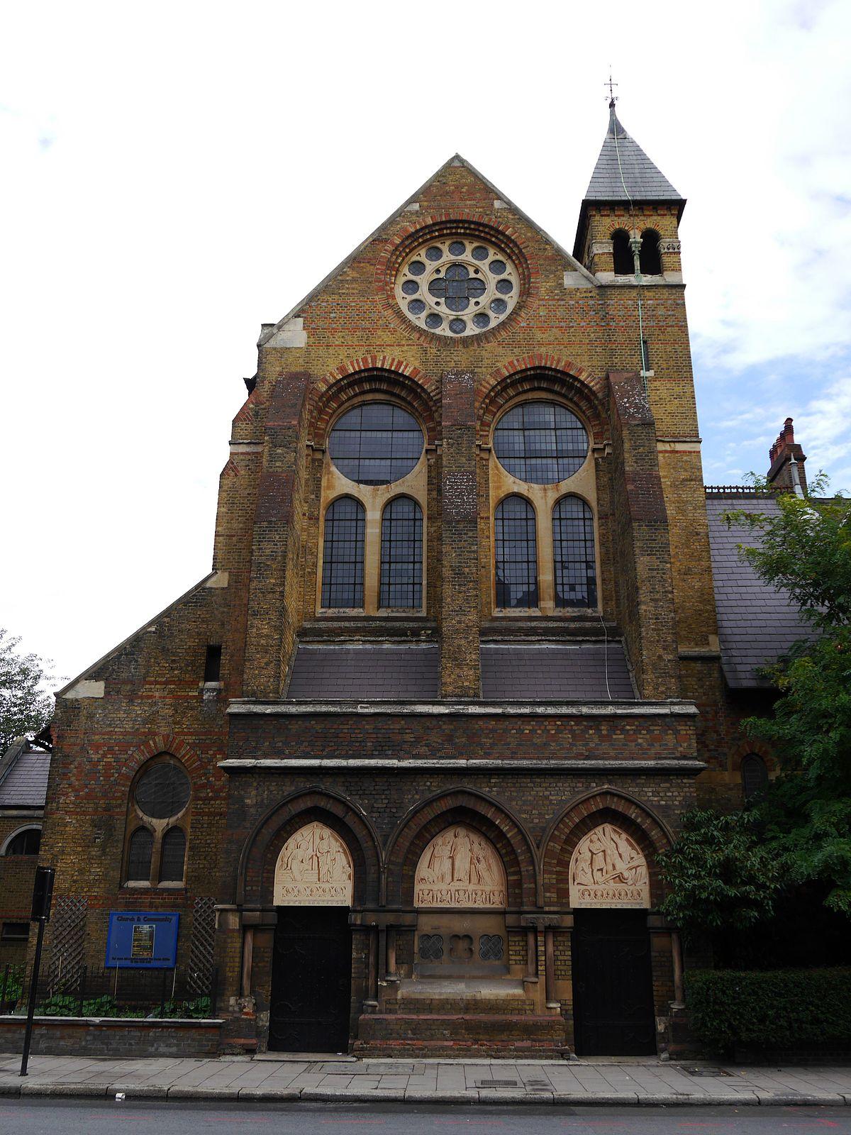 St Peter S Church Vauxhall Wikipedia