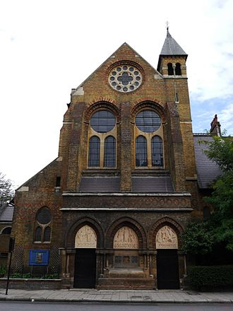 St Peter's Church, Vauxhall - St Peter's, Vauxhall, 2014