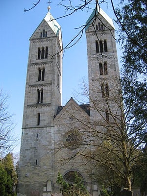 Straubing - Romanesque Church of St. Peter