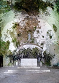 St Peters Cave Church altar.jpg