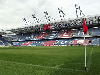 Wisła Kraków - Image: Stadion przed meczem z APOELEM