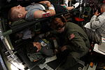 Staff Sgt. Hilary Drogus checks Pennsylvania Wing CAP simulated victims.JPG