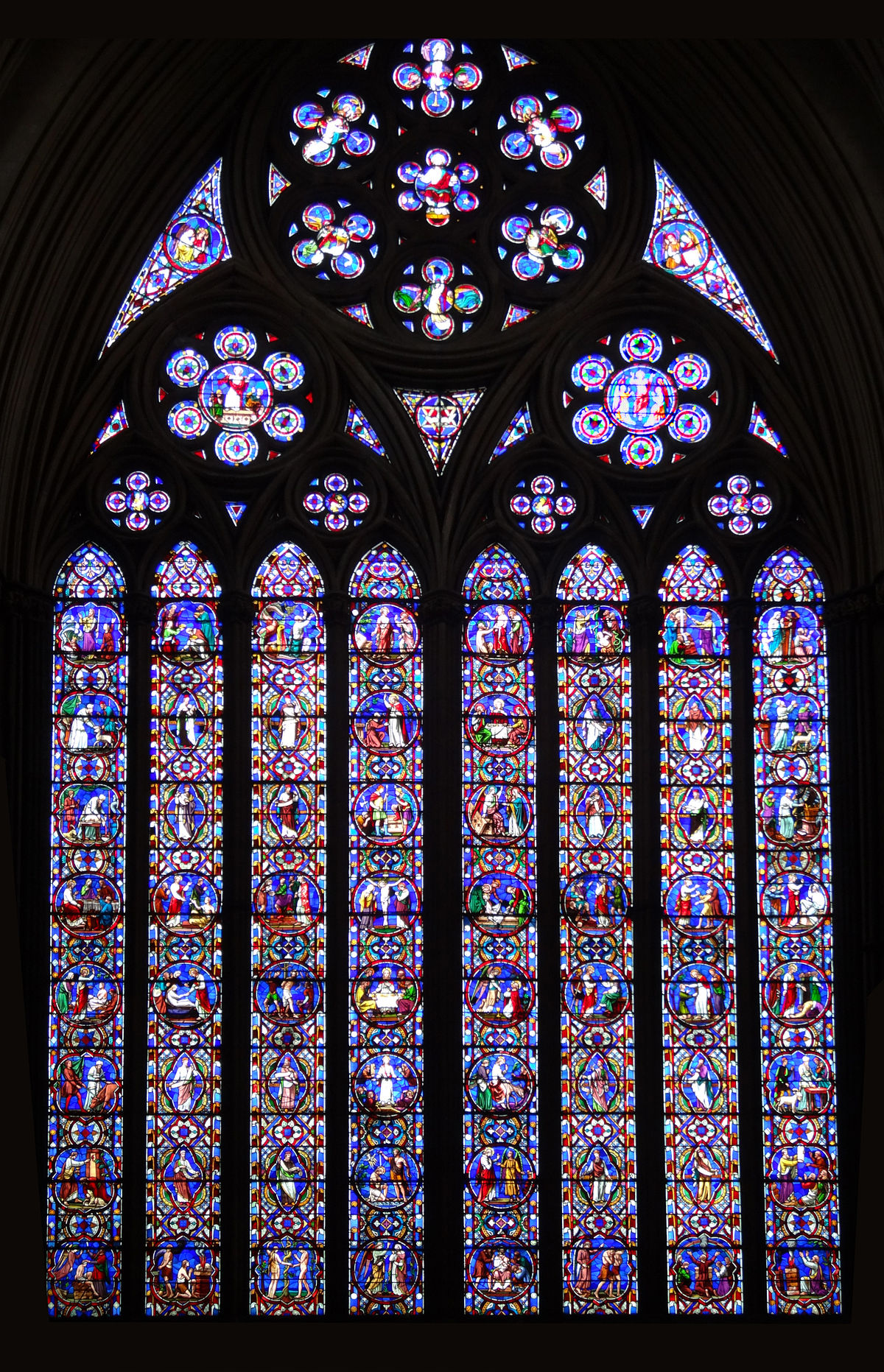Leaded Glass Windows : British and irish stained glass wikipedia