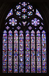 Stained glass windows in Lincoln Cathedral 07 East Window.jpg
