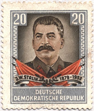 Red-baiting - Image: Stamp Josef Stalin 2