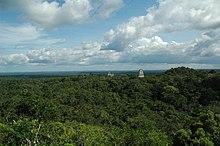 Rovine maya a Tikal in Guatemala utilizzate per le riprese della base ribelle su Yavin IV