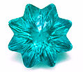 Star cut teal cubic zirconia.JPG