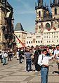 Staromiejskie Namiest, Praha, 3.5.2000r.jpg