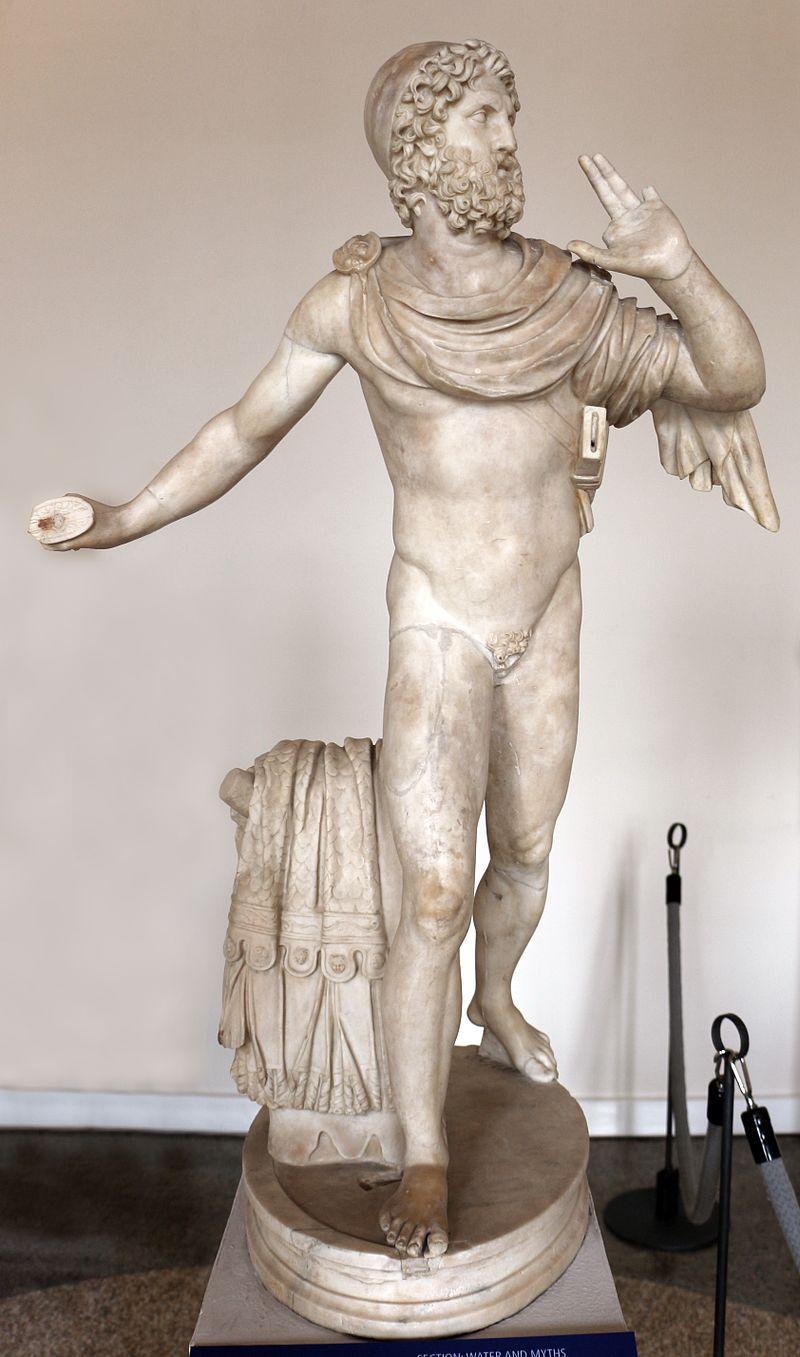Statua di ulisse di età antoniniana (II sec.), da un modello ellenistico del III sec. ac.jpg