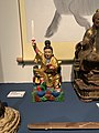 Statue of Chen Jing-gu (deity) in Museum of institute of Ethnology, Academia Sinica 01.jpg