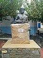 Statue of Ioannis Malahias in Agios Kirikos, Ikaria - Greece.jpg