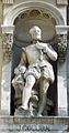 Statue of Jean Goujon on the Hotel de Ville in Paris.jpg