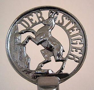 Steiger (automobile company) - Steiger. Radiator emblem