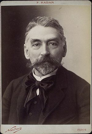 Stéphane Mallarmé - Mallarmé around 1890.
