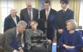 Stephen Hawking and Clintons in White House March 5, 1998 (04).png