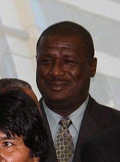 Stephenson King Prime minister of Saint Lucia