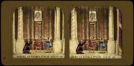 Stereokort, Robert le Diable 11, acte V, scène III - SMV - S112b.tif