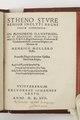 Stheno Sture senior inclyti regni Sveciæ gubernator, bok tryckt 1557, Henricus Mollerus - Skoklosters slott - 103696.tif