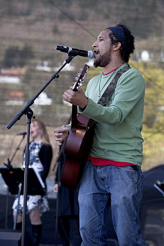 Stig Van Eijk - Van Eijk at the Melodi Grand Prix show  May 8, 2010.