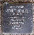 Stolperstein Arnstadt Ried 7-Adolf Mendel.JPG