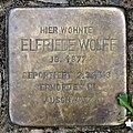 Stolperstein Deidesheimer Str 8 (Wilmd) Elfriede Wolff.jpg
