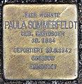Stolperstein Konstanzer Str 4 (Wilmd) Paula Sommerfeldt.jpg