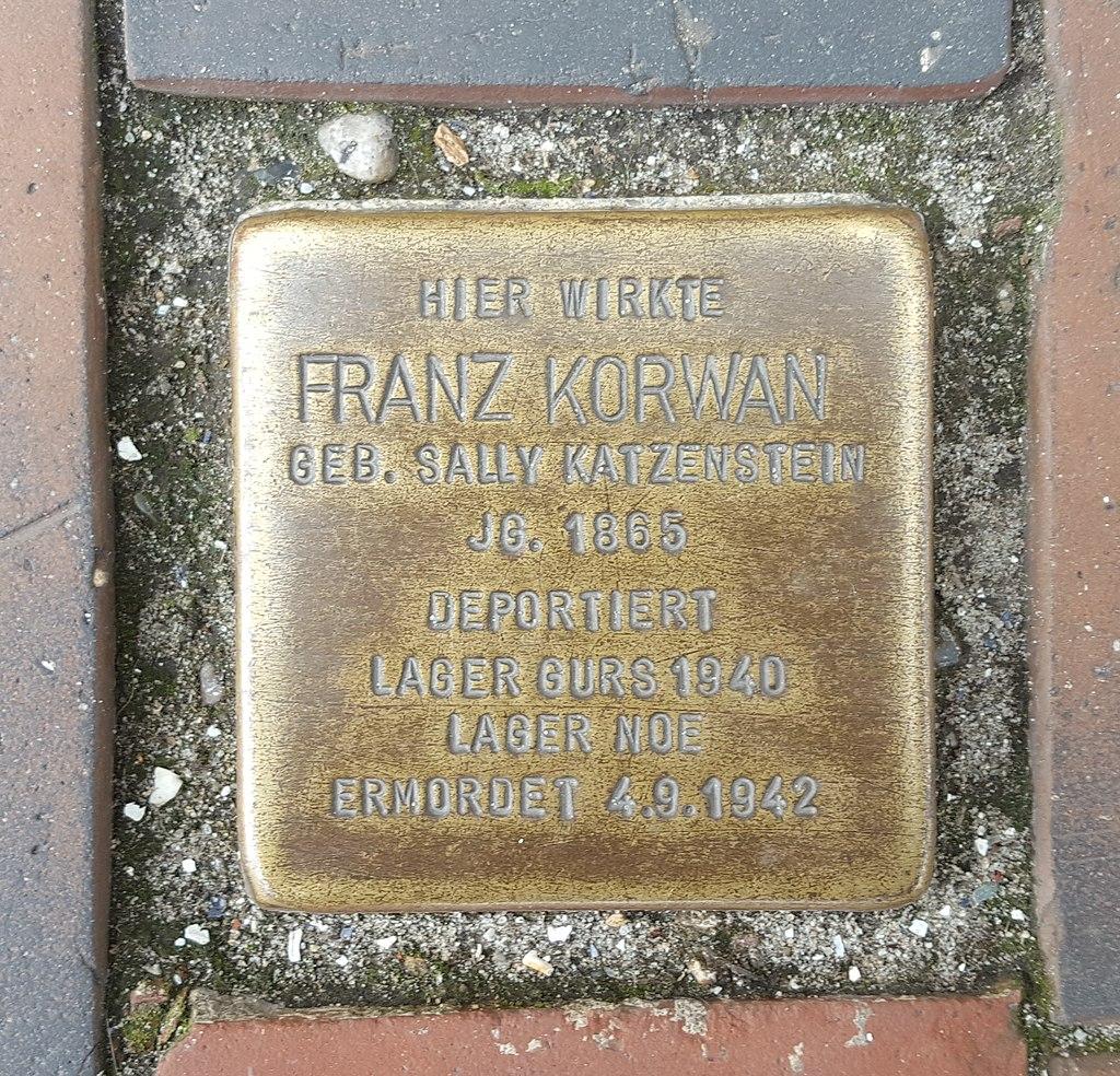 Stolperstein Korwan Franz Westerland.jpg