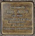 Stolperstein Paul Junius Rügener Straße 22 0039.JPG
