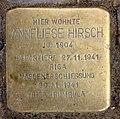 Stolperstein Rudolstädter Str 120 (Wilmd) Anneliese Hirsch.jpg