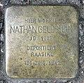 Stolperstein Rungestr 18 (Mitte) Nathan Gelbstein.jpg