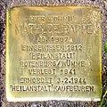 Stolperstein Verden - Mathilde Rappe (1907).jpg