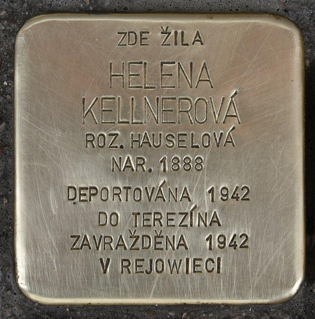 Stolperstein für Helena Kellnerova.JPG